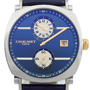 Chaumet Dandy Regulator W 11784 - 48 V Men's Automatic Blue Dial Watch