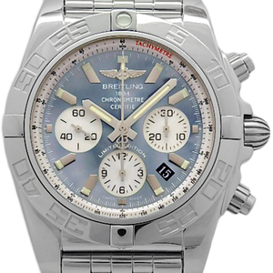 Breitling Chrono Mat 44 Mop Ab0110 Chronograph Japan Limited Men's Automatic Shell Dial Watch