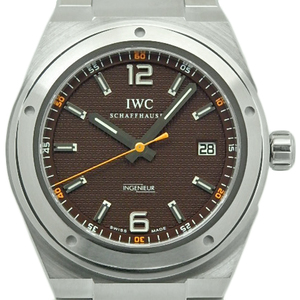 Iwc Inn Jr. Noguchi Ken Sherpa Foundation Japan Limited 200 Books Iw322712 Men's Automatic Brown Dial Watch