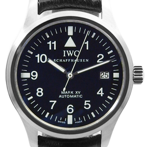 Iwc Pilot Watch Mark Xv 15 Iw 325301 3253-001 Men's Automatic Black Character Box
