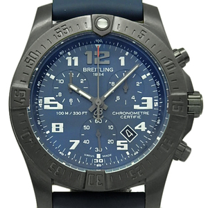 Breitling Chrono Space Evolution Knight Mission Electronics V73330 Quartz Mens Blue Dial Watch