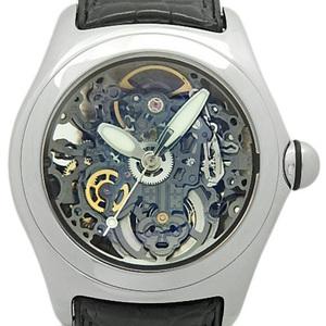 Corum Column Bubble Skeleton 82-150-20 08215020 Automatic Men's Back Scale Dial Watch