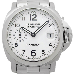 Panerai Luminor Marina Pam00051 Men's Automatic I White Dial Watch