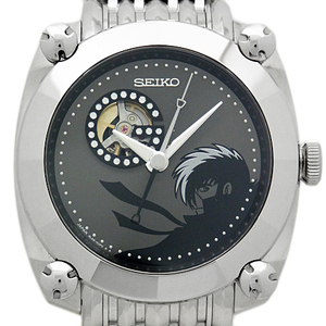 Seiko Galante Black Jack Sbll013 8l 38 Men's Automatic Backside Scale Dial Watch Wrist