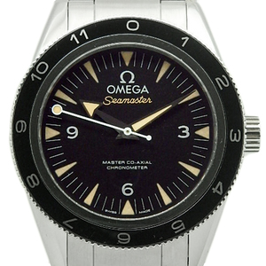 Omega Seamaster 300 Master Co-axial 233-32-41-21-01-001 James Bond 007 World 7007 Spector Limited Men's Automatic Back Skeleton Black Box Wrist Watch