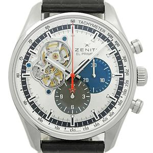 Zenith El Primero Chrono Master 03.2040.4061 69.c496 Open Men's Automatic Back Scale Silver Dial Watch