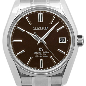 Seiko Gs Grand Sbgh 039 9s85 Mechanical Historical Collection High Beat 36000 Master Shop Limited Automatic Back Scale Men's Brown Dial Watch