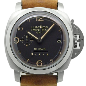 Panerai Luminor Marina 1950 10days Gmt 10 Days Pam00406 Beverly Hills Limited Men's Automatic M Number Black Characters Watch Wrist