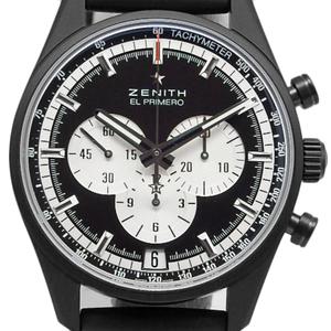Zenith El Primero Chrono Master 24.2041.400 21.r 576 Men's Automatic Backside Scale Black Type Wrist Watch