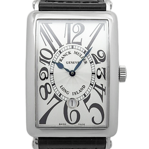 Frank Muller Long Island Day 1150scdt Men's Automatic Silver Dial Plate Watch