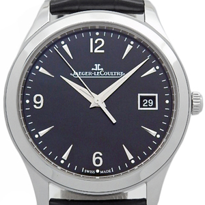 Jaeger Lecoultre Master Control Day Q1548470 Men's Automatic Backside Scale Black Type Wrist Watch