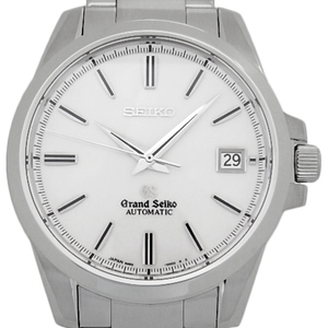 Seiko Gs Grand Mechanical Sbgr 055 9s65-00c0 Automatic Men's Back Scale White Dial Watch