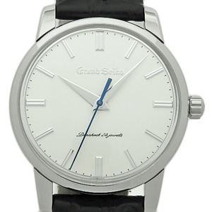 Seiko Gs Grand 130th Anniversary Reprint Model Sbgw 033 9s64 1300 Pieces Limited Men's Handwrap White Dial Watch