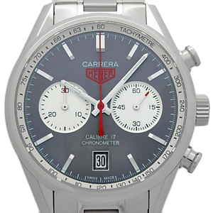 Tag Heuer Carrera Caliber 17 Chronograph Cv 5110 Men's Automa Anthracite Silver Dial Watch