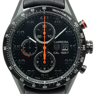 Tag Heuer Carrera 1887 Chrono Racing Car 2 A 80 - 0 Men's Automatic Ti Back Scale Black Case Watch