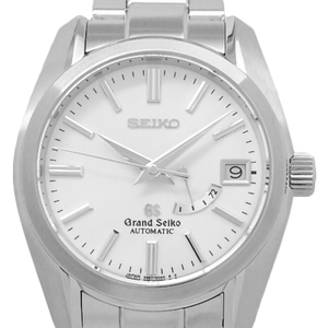 Seiko Gs Grand Mechanical Power Reserve Sbgl001 9s67 Men's Automatic Back Scale White Dial Watch