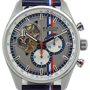 Zenith El Primero Chrono Master 1969 Tool Auto 03.2044.4061 01.c746 Men's Automatic Limited World Scale Silver Dial Watch With 500