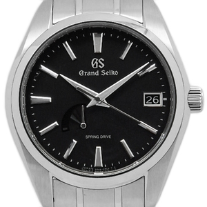 Seiko Gs Grand Spring Drive Sbga 203 9r65 Master Shop Limited Men's Back Scale Automatic Black Type Wrist Watch
