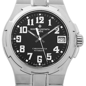 Vacheron Constantin Overseas 42052 Medium Chronometer Automatic Black Case Wrist Watch