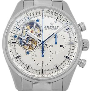 Zenith El Primero Chrono Master 1969 03.2040.4061 01.m2040 Open Men's Automatic Back Scale Silver Dial Watch
