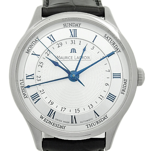 Maurice Lacroix Masterpiece Tradition Mp6507 - Ss001 110 Back Scale Automatic Silver Dial Watch Wrist