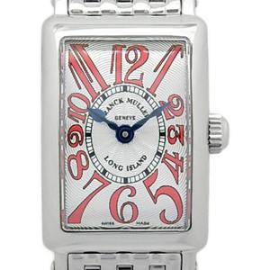Frank Muller Long Island Petit 802qzac Ladies Quartz Silver Dial Watch