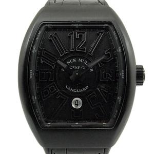 Frank Muller Vanguard V45scdt Ttnrbrnr Men's Automatic Black Letter Watch Wrist