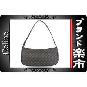 Celine Celine Accessory Pouch Macadam Black