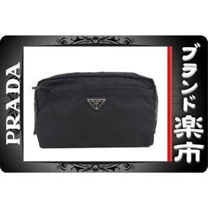 Prada Prada Nylon Cosmetic Pouch Black 1 Na 394