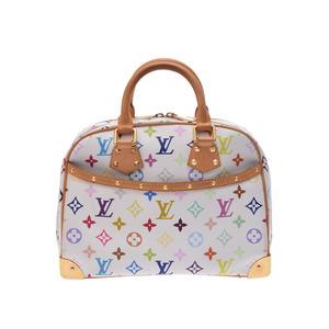 ルイ・ヴィトン(Louis Vuitton) 中古 ルイヴィトン マルチカラー トゥルーヴィル 白 M92663 レディース LOUIS VUITTON◇