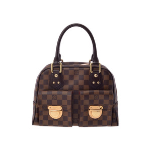 Louis Vuitton Damier N48173 Manhattan Special Order Women's Handbag Damier Canvas
