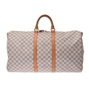 ルイ・ヴィトン(Louis Vuitton) 中古 ルイヴィトン アズール キーポル バンドリエール55 N41429 ストラップ付 メンズ レディース LOUIS VUITTON◇