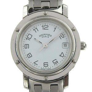 Real Hermes Clipper Ladies Quartz Wrist Watch Cl 4.210