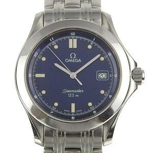 Genuine Omega Seamaster Men's Quartz Watch Navy Dial 2511.8