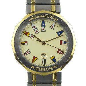 Genuine Corum Admirals Cup Men's Quartz Wristwatch 99.810.21v552
