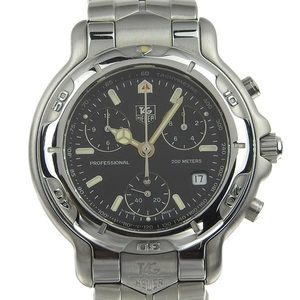 Genuine Tag Heuer Professional Men's Quartz Wrist Watch Ch1113-0