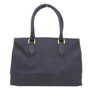 Genuine Fendi Celia Handbag Nero Black