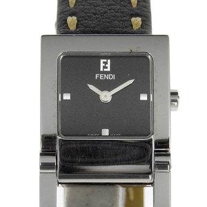 Genuine Fendi Ladies Quartz Wrist Watch Black 5200l