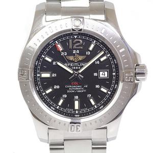 [Breitling] Breitling Men's Watch Colt Automatic A1738811 / Bd44 (A17388) Black Dial