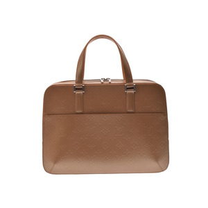 Louis Vuitton Monogram Mat Unisex Briefcase Ambre,Monogram