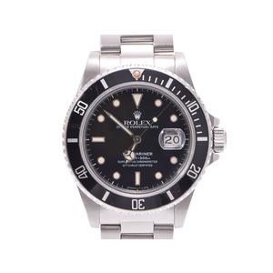中古 ロレックス サブマリーナ 16800 トリチウム 黒文字盤 SS 自動巻 メンズ 腕時計 ROLEX