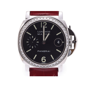 Officine Panerai Luminor Marina Automatic Stainless Steel Men's Dress Watch PAM00071