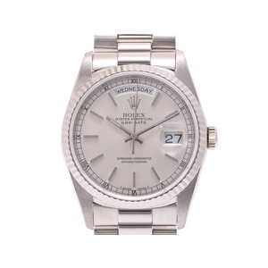 Rolex Day-Date Automatic White Gold Men's Watch 18239
