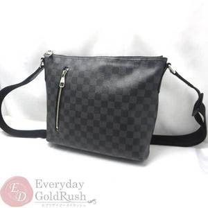 Louis Vuitton Damier Graphite Shoulder Bag Damier Graphite