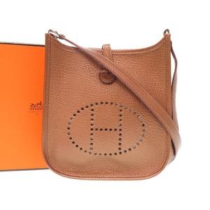 Unused Hermes Evelyn Tpm Midosuji Limited Shoulder Bag Shell / Bronze 2007 □ K Engraved 0258 Hmes