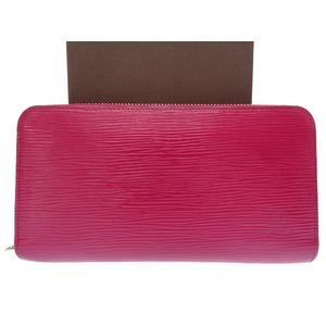 Louis Vuitton Epi Zippy · Wallet M 61858 Long Fuchsia 0197