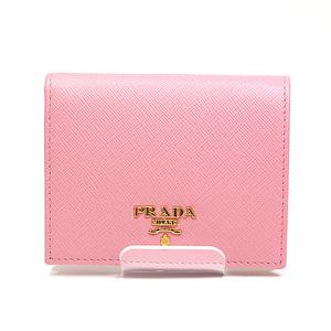 Prada Saferiano Folded Wallet 1 Mv 204 Pink Unused Item