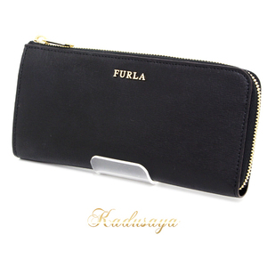 Furla 871080 P Ps13 B30 Babylon Wallet Ladies Black Onyx