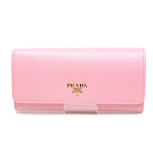 Prada Safiano Folding Wallet 1 Mh132 Petalo (Pink) Unused Item