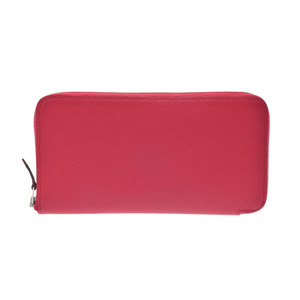 Hermes Silk'in Women's Epsom Leather Long Wallet (bi-fold) Pink